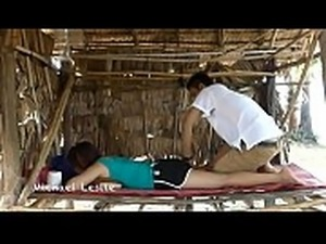 Massage Techniques For Legs And Thigh Relaxing Muscles Relieving Stress P#3