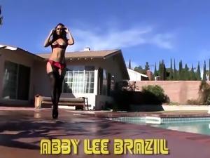 Abby Lee Brazil Sexy All Natural POV Freak