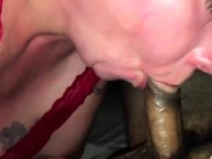 Big booty mature wife sucks and fucks a hard shaft in POV