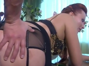 Russian Mature Gets It In The Ass