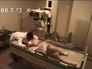 Amateur Asian babe gets used by a horny doctor on hidden cam