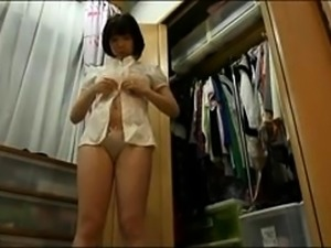 Stacked Japanese milf gets pumped full of cock on the bed